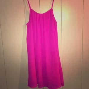 Hot pink dress 💋